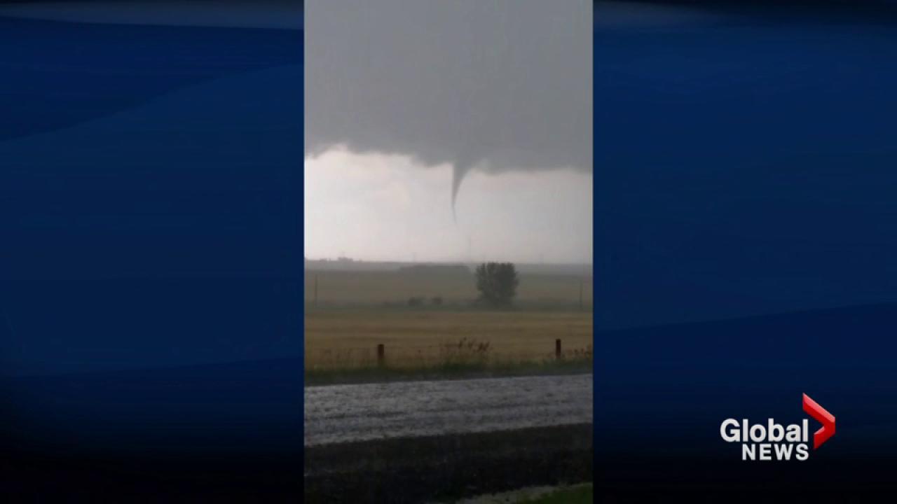 Hail, tornadoes and more extreme weather for Alberta